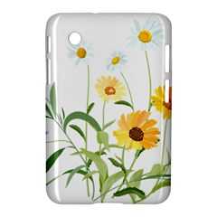 Flowers Flower Of The Field Samsung Galaxy Tab 2 (7 ) P3100 Hardshell Case