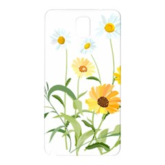 Flowers Flower Of The Field Samsung Galaxy Note 3 N9005 Hardshell Back Case