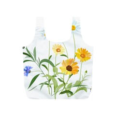 Flowers Flower Of The Field Full Print Recycle Bags (S)