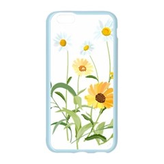 Flowers Flower Of The Field Apple Seamless iPhone 6/6S Case (Color)