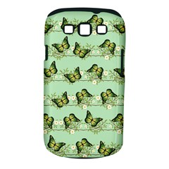 Green Butterflies Samsung Galaxy S Iii Classic Hardshell Case (pc+silicone)