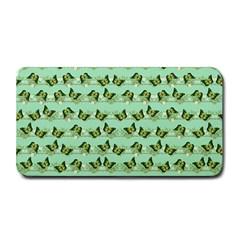 Green Butterflies Medium Bar Mats