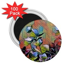 Spring Flowers Magic Cube 2.25  Magnets (100 pack)