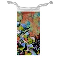 Spring Flowers Magic Cube Jewelry Bag