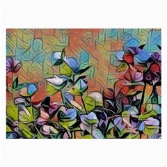 Spring Flowers Magic Cube Large Glasses Cloth (2-Side)