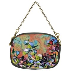 Spring Flowers Magic Cube Chain Purses (One Side)