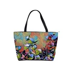 Spring Flowers Magic Cube Shoulder Handbags
