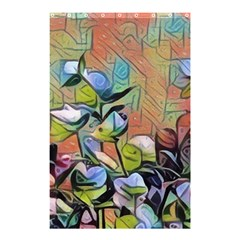 Spring Flowers Magic Cube Shower Curtain 48  x 72  (Small)