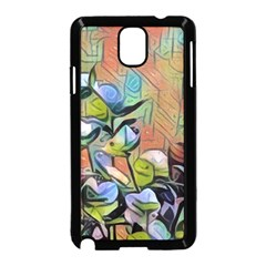 Spring Flowers Magic Cube Samsung Galaxy Note 3 Neo Hardshell Case (Black)