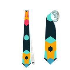 Connected shapes pattern          Necktie