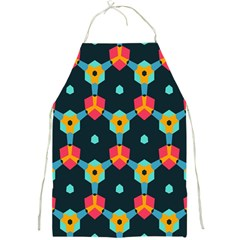 Connected shapes pattern          Full Print Apron