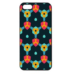 Connected shapes pattern    Apple iPhone 5 Seamless Case (Black)