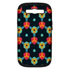 Connected shapes pattern    Apple Seamless iPhone 5 Case (Color)