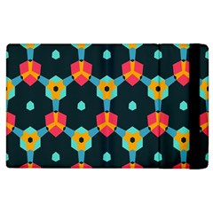 Connected shapes pattern    Apple iPad 2 Flip Case