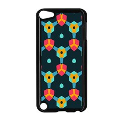 Connected shapes pattern    Apple iPad Mini Case (White)