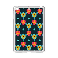 Connected shapes pattern    Apple iPad 3/4 Case (White)