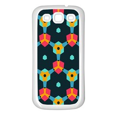 Connected shapes pattern    Samsung Galaxy S7710 Xcover 2 Hardshell Case