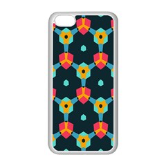Connected shapes pattern    Apple iPhone 5C Seamless Case (Black)