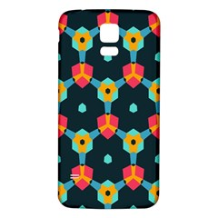 Connected shapes pattern    Samsung Galaxy S5 Case (Black)