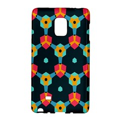 Connected shapes pattern    Samsung Galaxy Note 4 Leather Folio