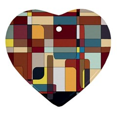 Patchwork Ornament (Heart)