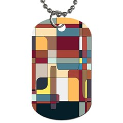Patchwork Dog Tag (two Sides)
