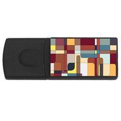Patchwork USB Flash Drive Rectangular (2 GB)