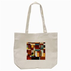 Patchwork Tote Bag (cream)