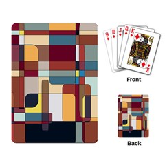 Patchwork Playing Card