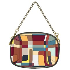 Patchwork Chain Purses (one Side)