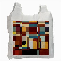 Patchwork Recycle Bag (one Side)