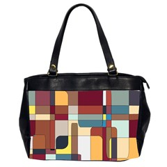 Patchwork Office Handbags (2 Sides)
