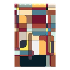 Patchwork Shower Curtain 48  X 72  (small)