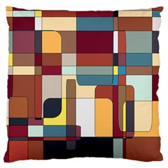 Patchwork Large Cushion Case (two Sides)