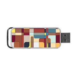 Patchwork Portable Usb Flash (two Sides)