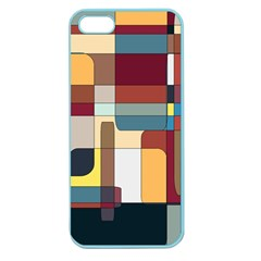 Patchwork Apple Seamless Iphone 5 Case (color)