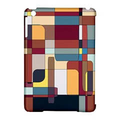 Patchwork Apple Ipad Mini Hardshell Case (compatible With Smart Cover)
