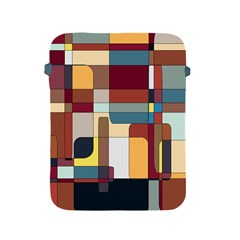 Patchwork Apple Ipad 2/3/4 Protective Soft Cases