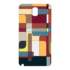 Patchwork Samsung Galaxy Note 3 N9005 Hardshell Back Case