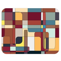 Patchwork Double Sided Flano Blanket (medium)