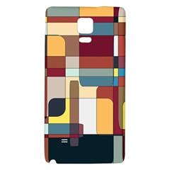 Patchwork Galaxy Note 4 Back Case