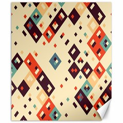 Squares in retro colors         Canvas 20  x 24