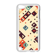 Squares in retro colors   Apple iPod Touch 5 Case (Black)
