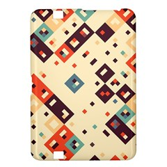 Squares in retro colors   Samsung Galaxy Premier I9260 Hardshell Case