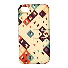 Squares in retro colors   Samsung Galaxy S3 MINI I8190 Hardshell Case