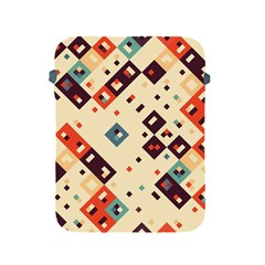 Squares in retro colors   Sony Xperia ZL (L35H) Hardshell Case