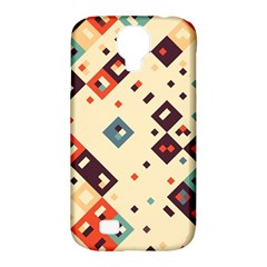 Squares in retro colors   Samsung Galaxy Tab 3 (10.1 ) P5200 Hardshell Case