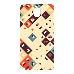 Squares in retro colors   Samsung Galaxy Note 10.1 (P600) Hardshell Case