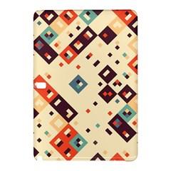 Squares in retro colors   Nokia Lumia 1520 Hardshell Case
