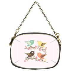 Four Birds Chain Purses (One Side)